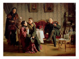 Day of the Parting, 1872 Giclee Print by Aleksei Ivanovich Korzukhin
