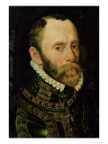 Portrait of Philips Van Montmorency (1522-68) Count of Hoorne Giclee Print by Adriaen Thomasz Key