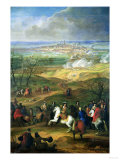 The Siege of Mons by Louis XIV (1638-1715) 9th April 1691 Giclee Print
