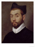 Portrait of a Man, Presumed to be Clement Marot (circa 1495-1544) Giclee Print by Giovanni Battista Moroni