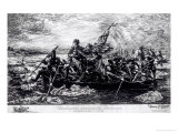 Washington Crossing the Delaware, c.1851 Giclee Print by Emanuel Gottlieb Leutze