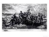 Washington cruzando el Delaware, ca. 1851 Lámina giclée por Emanuel Leutze