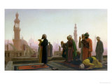 The Prayer, 1865 Premium Giclee Print by Jean Leon Gerome