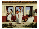 Greek Women at the Fountain, 1841 Reproduction procédé giclée par Dominique Louis Papety