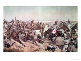 Charge of the 21st Lancers at Omdurman, 2nd September 1898 Giclee Print by Richard Caton Woodville