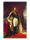 Portrait of Napoleon III (1808-73) Emperor of France Giclee Print by Franz Xavier Winterhalter