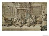 Dutch Interior, 1617 Giclee Print by Willem Pietersz Buytewech