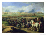 Louis XIV (1638-1715) at the Siege of Tournai, 21st June 1667 Giclee Print by Adam Frans van der Meulen