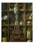 Treasure Chest, 1666 Giclee Print by Johann Georg Hainz
