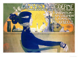 La Maison Moderne, c.1902 (poster) Reproduction giclée Premium par Manuel Orazi