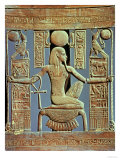 Back of a Chair from the Tomb of Tutankhamun (circa 1370-52 BC) of the Spirit of Millions of Years Giclee Print