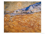 The Harvester Premium Giclee Print by Vincent van Gogh