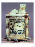 Unguent Jar with a Figure of a the King as a Lion, from the Tomb of Tutankhamun (circa 1370-52 BC) Giclee Print