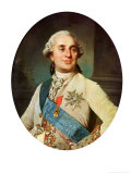 Portrait Medallion of Louis XVI (1754-93) 1775 Giclee Print by Joseph Siffred Duplessis
