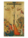 The Crucifixion Giclée-tryk af Simone Martini