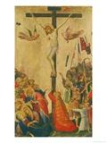 The Crucifixion Giclée-Druck von Simone Martini