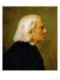 The Composer Franz Liszt (1811-86), 1884 Giclee Print by Franz Seraph von Lenbach