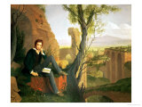 Percy Bysshe Shelley (1792-1822) 1845 Giclee Print by Joseph Severn