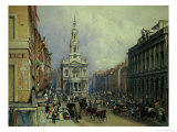 St. Mary Le Strand, 1836 Giclee Print by George Sidney Shepherd