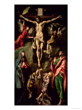 The Crucifixion, circa 1584-1600 Giclée-tryk af  El Greco