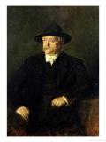Chancellor Otto Von Bismarck (1815-98), 1849 Giclee Print by Franz Seraph von Lenbach