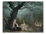 "The Sacred Grove of the Druids, from the Opera ""Norma"" by Vincenzo Bellini (1802-35) Giclee Print"