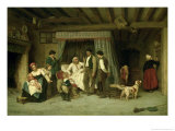 The Final Warning, 1886 Giclee Print by Theophile Emmanuel Duverger