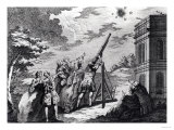 Halley's Comet Observed in 1759 by Cassini III (1714-84), Giclee Print