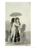 Couple with a Parasol Giclee Print by Francisco de Goya