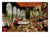 Allegory of Taste Giclee Print by Jan Brueghel the Elder