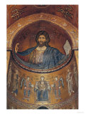 Christ Pantocrator and the Madonna Enthroned with Angels and Apostles, from the central apse  Lmina gicle