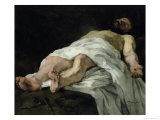 Christ Taken Down from the Cross, 1874 Giclee Print by Wilhelm Trubner