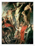 Christ Between the Two Thieves, 1620 Giclee Print by Peter Paul Rubens