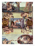 Sistine Chapel Ceiling (1508-12): the Creation of Eve, 1510 (Post Restoration) Giclee Print by  Michelangelo Buonarroti