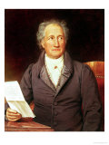Johann Wolfgang Von Goethe (1749-1832) 1828 Giclee Print by Josef Karl Stieler