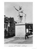 Statue of William Tell, circa 1860-90 Reproduction procédé giclée par Richard Kissling