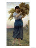 The Gleaner, 1877 Giclee Print by Jules Breton