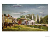 Market Square, Germantown, Pennsylvania Giclee Print by William Britton