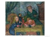 The Children's Parlour Giclee Print by Fritz Friedrichs