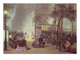 A Queue at the Theatre De L&#39;Ambigu-Comique Giclee Print by Eugene Charles Francois Guerard