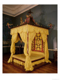 Four Poster Bed, in the Chinese Style, 1750s Giclee Print by John Linnell