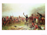 The Battle of Waterloo, 18th June 1815 Premium Giclee Print by Robert Alexander Hillingford