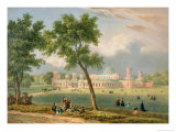The Peter the Great Palace in Moscow, Printed by Edouard Jean-Marie Hostein (1804-89) Giclee Print by Victor Jean Adam