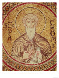 St. Pachomius (d.346) (mosaic) Lmina gicle