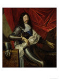 Louis XIII (1601-43) King of France and Navarre, after 1630 Giclee Print by Justus van Egmont