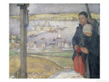 Brittany Giclee Print by Edward Reginald Frampton