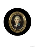 Portrait Miniature of Count Hans Axel Von Fersen (1755-1810) Giclee Print by Noel Halle