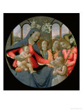 Virgin and Child with St. John the Baptist and the Three Archangels, Raphael, Gabriel and Michael Giclee Print by Sebastiano Mainardi