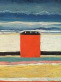 Red House, 1932 Gicléedruk van Kasimir Malevich