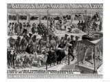 Poster Advertising, The Barnum and Bailey Greatest Show on Earth Giclee Print